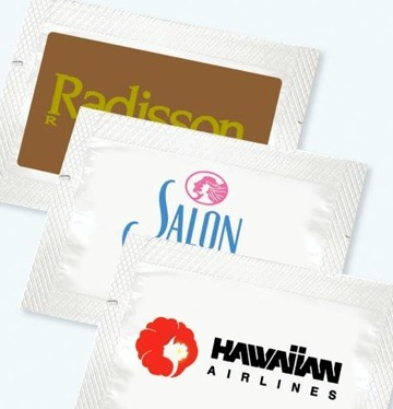 custom towelettes - personalized antibacterial wipes