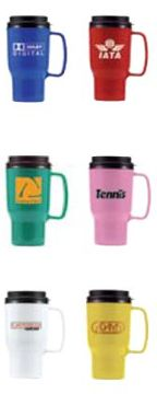wholesale travel mugs 16 Oz. Blue, Green, Pink, Red, Yellow, White