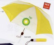 2 Tone promotional umbrellas in bulk