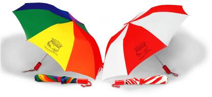 Wholesale Folding Umbrellas in Bulk and Rainbow Umbrellas