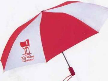 Personalized 2 Tone Folding Umbrellas