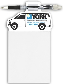 wholesale Van Magnets with pad and pen