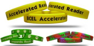 bulk custom printed wristbands