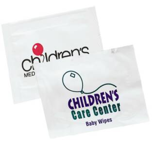 Personalized Baby Wipes Wholesale Individual packs.