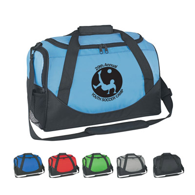Custom Travel Duffle Bag Personalized, Royal Blue, Lime Green, Carolina Blue, Red, Black or Gray