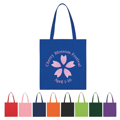 Custom Budget Tote Bag Personalized in Bulk