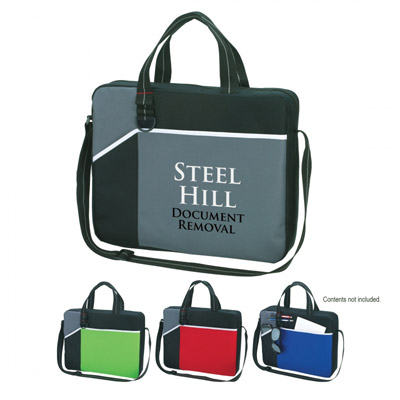 Custom Messenger Briefcases Personalized in Bulk