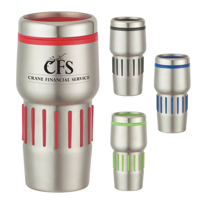 Custom Rubber Grip Tumbler Personalized in Bulk
