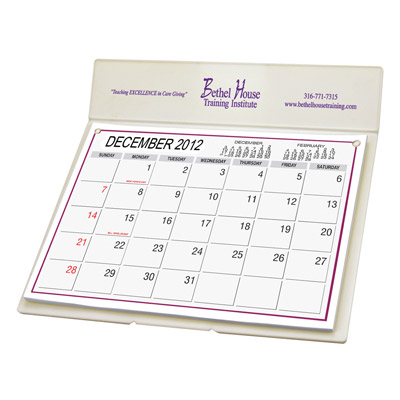 Custom Mailing Desk Calendar Personalized in Bulk