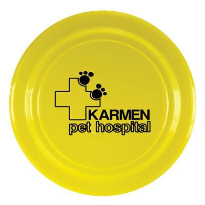 Custom Frisbees for Dogs Personalized in Bulk