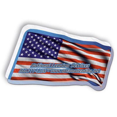 Custom USA Flag Magnet Personalized in Bulk