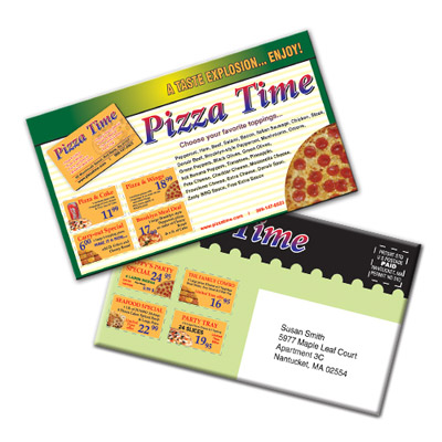 Custom Coupon Magnet Mailers Personalized in Bulk