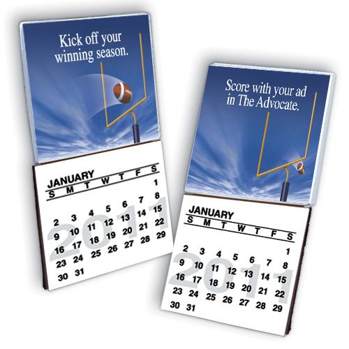 Custom Lenticular Calendar Pad Magnet