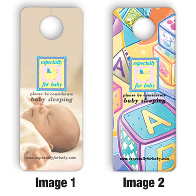 Custom Lenticular Door Hangers Personalized in Bulk