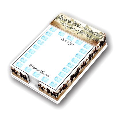 Custom Acrylic Note Holders Personalized in Bulk