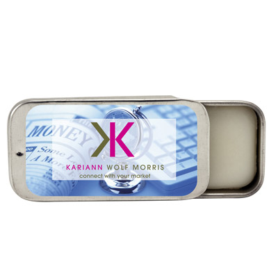 Custom Lip Balm Tin Personalized in Bulk