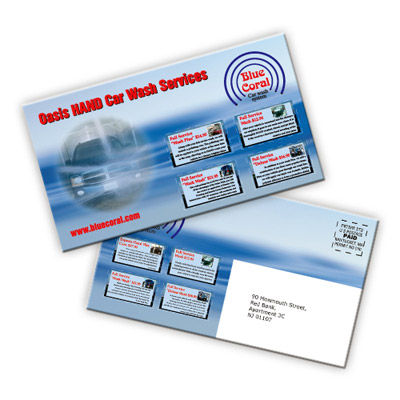 Custom Coupon Mailers Personalized in Bulk