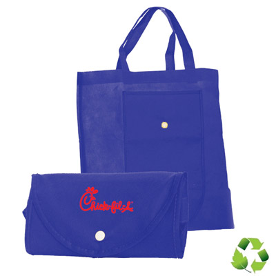Cheap Foldable Totes Custom Printed in Bulk