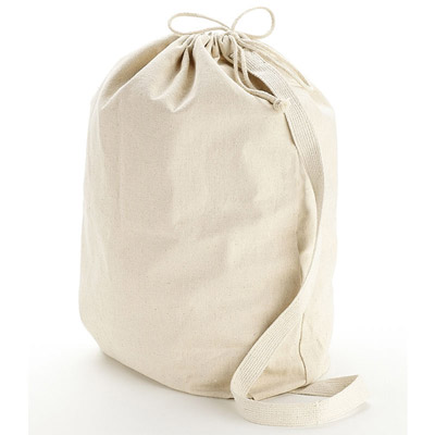 Cheap Cotton Laundry Bags Custom Printed in Bulk