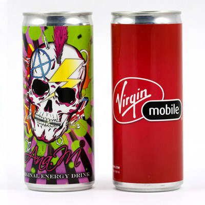 Custom Energy Drink Personalized in Bulk