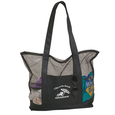 Cheap Mesh Tote Bags Custom Printed in Bulk