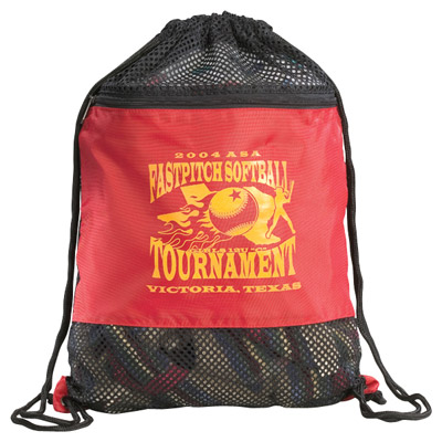 Cheap Mesh Backpacks Custom Printed in Bulk