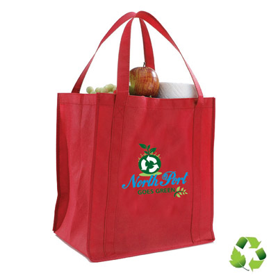 Cheap Grocery Bags Custom Printed in Bulk