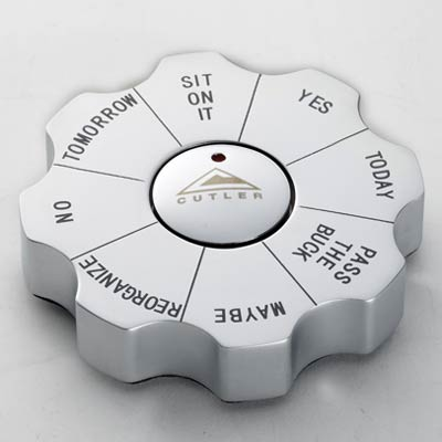 Wholesale Spin Decision Executive Game in Bulk, Personalized Silver