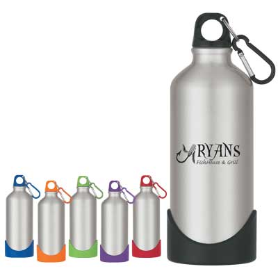 Wholesale personalizesteel bottles in bulk, rubber base