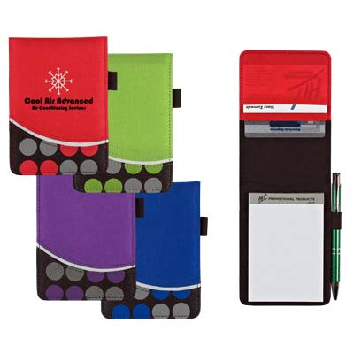Wholesale Polka Dot Jotter in Bulk, Personalized, Lime Green, Red, Royal Blue or Purple