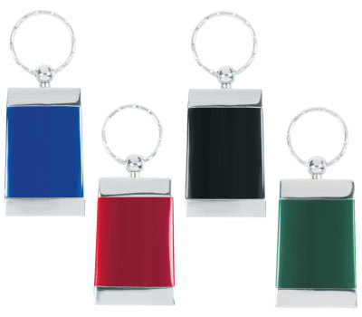 Wholesale Emerald Key Chain, Personalized in Bulk.Blue,  Black, Green & Red