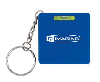 Wholesale Leveller & Tape Measure Keychain, Personalized in Bulk.