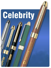 Personalized Metal Pens w/ Blue Ink , Copper, Black, Blue, Silver, Green
