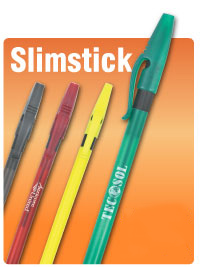 bargain wholesale stick pens personalized Smoke, Red, Green, Blue, Yellow and Black