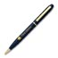 Personalized Brass Pens Blue Ink, Blue,