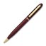 Personalized Brass Pens Blue Ink Maroon