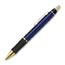 promotional metal pen blue/gold