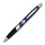 Discounted Ballpoint Pens, Custom Printed,  Black or Blue w/ Silver accents
