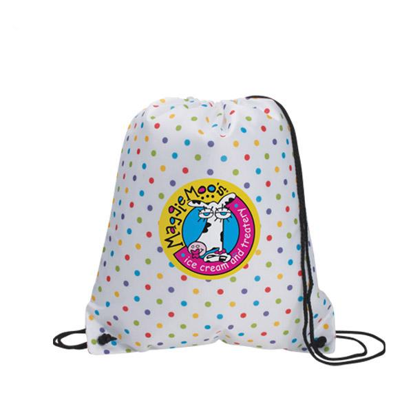 Custom Designer Backpack, Personalized in Bulk,  Polka Dots Backpacks, Circles Backpacks, Squares Backpacks,