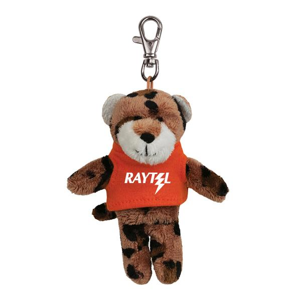 Custom Plush Key Tags, Personalized in Bulk w/ Personalized T-Shirts
