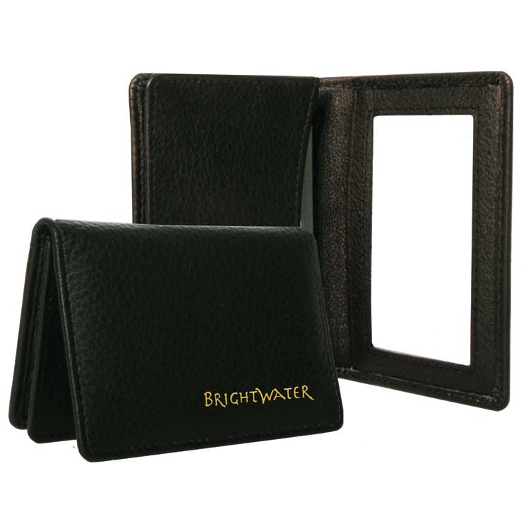 Wholesale Leather Card Cases in Bulk, Brown and Black