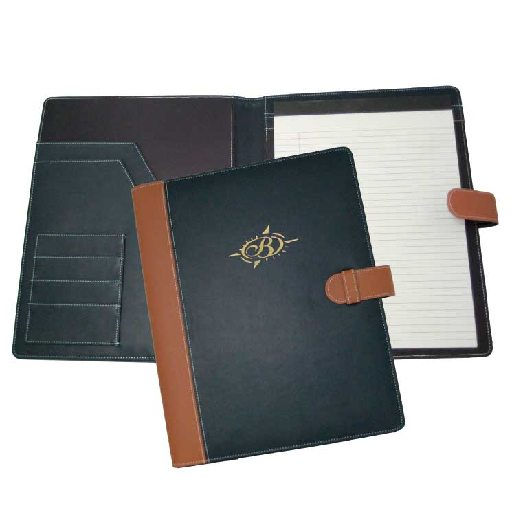 Wholesale Faux Leather Padfolios in Bulk
