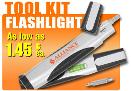 Personalized Toolkit Flashlights in Bulk
