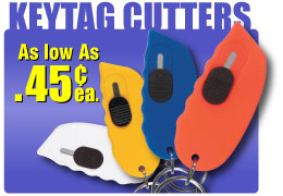 discounted wholesale cutter key tags in bulk, personalized