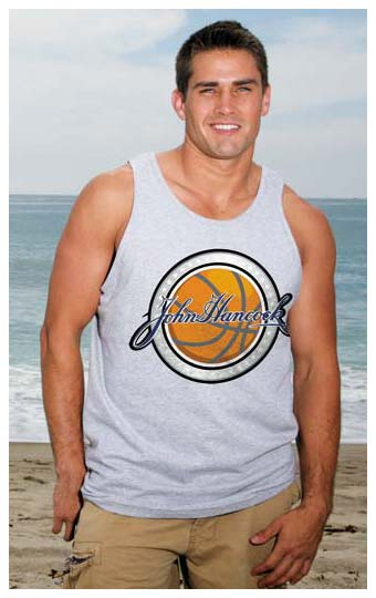 Wholesale 100% Cotton Men Tank Tops personalized in bulk