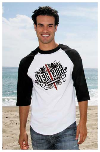 Wholesale 3/4 Sleeve Raglan Baseball T-Shirts - 100% Cotton personalized in bulk