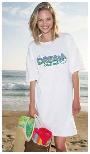 Beach T-shirt -Cover up Shirt for Women, Personalized Wholesale