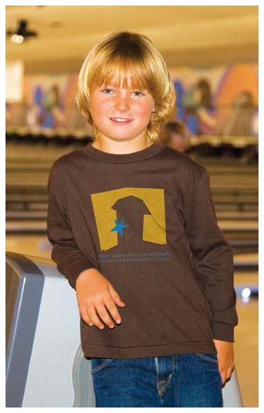 Juvenile Long Sleeve T-Shirts Personalized