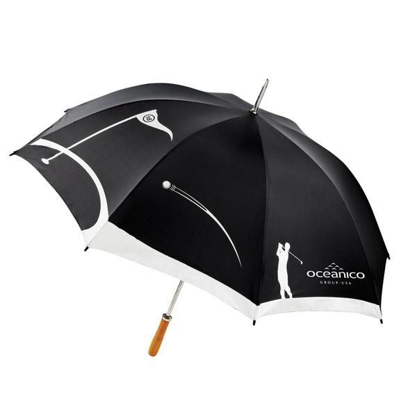 Pesonalized Golf  Umbrella, Black, Forest Green, Navy