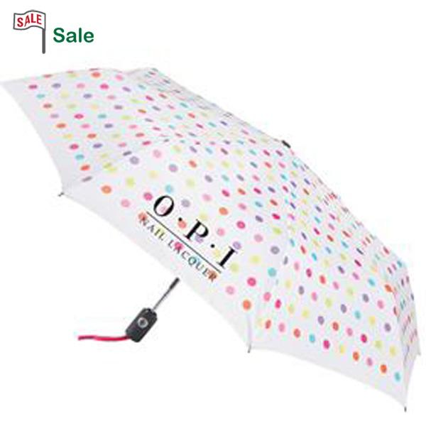 Custom Designer Umbrella, Personalized in Bulk, Polka Dot, Leopard, Stripes.